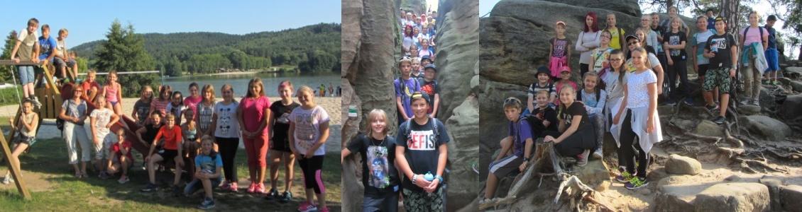 Adaptační pobyt žáků 6. tříd – Jinolice, září 2016