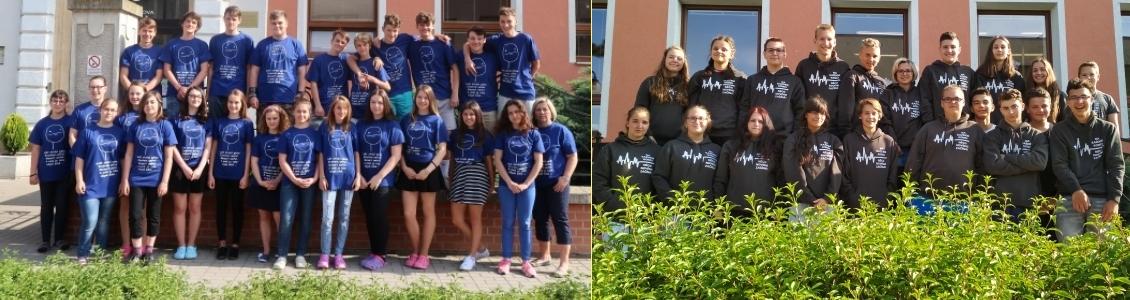 """Naši žáci 9. tříd ve """"stejnokroji"""" – 2018"""