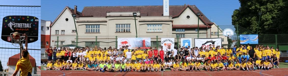 14. ročník Novobydžovského streetballového turnaje 2018