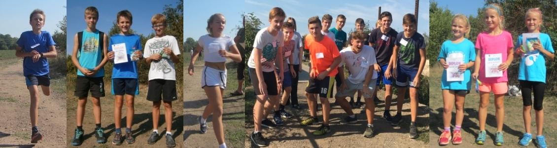 Přespolní běh aneb běhá celá škola …2018