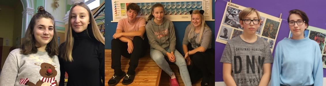 Úspěšní žáci v soutěžích – anglická konverzace, chemická soutěž, GNB