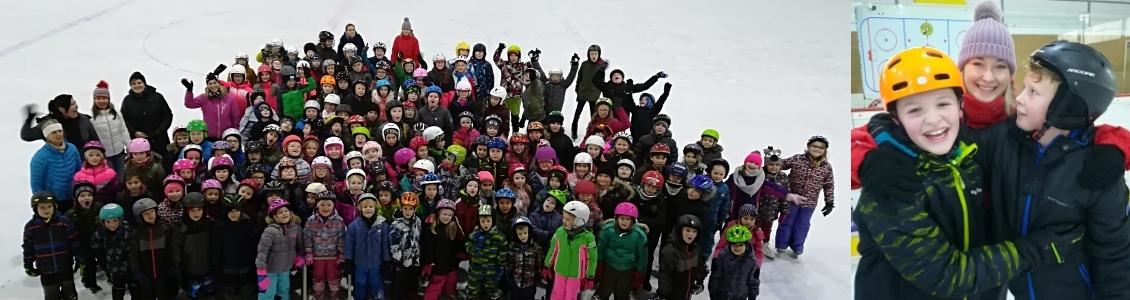 Sportovní soutěže na ledě pro žáky 1. stupně