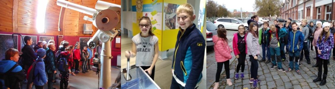 Exkurze 5. tříd – hvězdárna a elektrárna Hučák – 2019