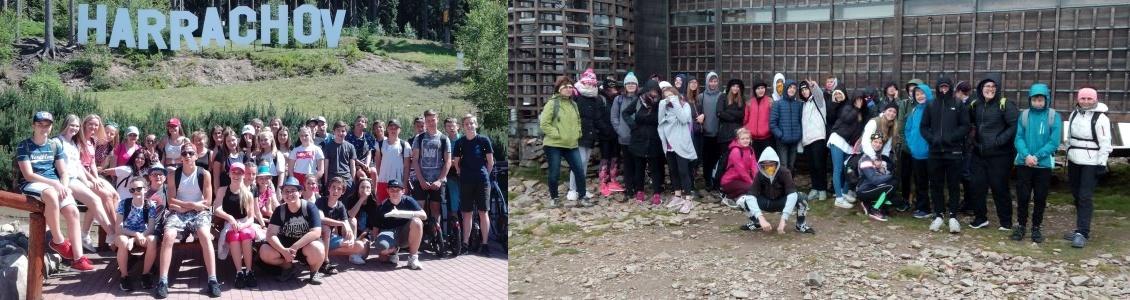 Naši deváťáci – výlet do Krkonoš