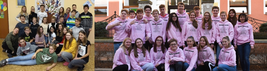 Naši deváťáci – třída 9. B