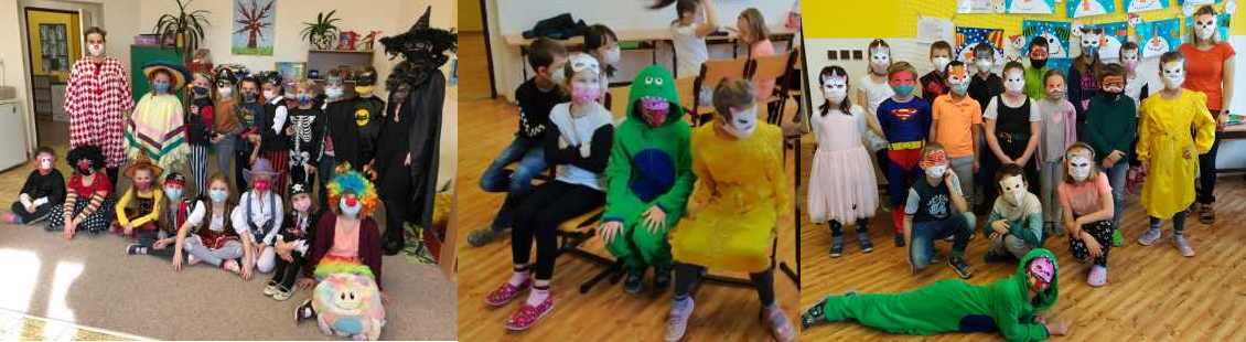 Masopustní veselí ve 2. třídách – 2021